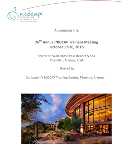 Microsoft Word - 26th Annual NIDCAP Trainers Meeting Invitation