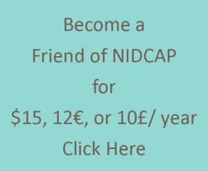 Friend of NIDCAP button copy