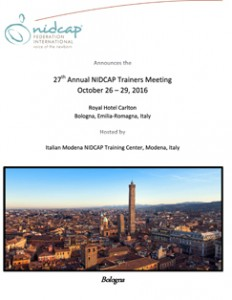 Invitation 27th Annual NIDCAP Trainers Meeting image