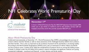 World Prematurity Day 2019 NFI Info Sheet